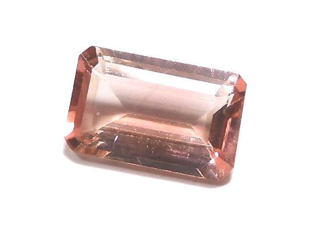 【動画】【1点もの】ナイジェリア産宝石質バイカラートルマリンAAA ファセットカット 1粒 NO.9