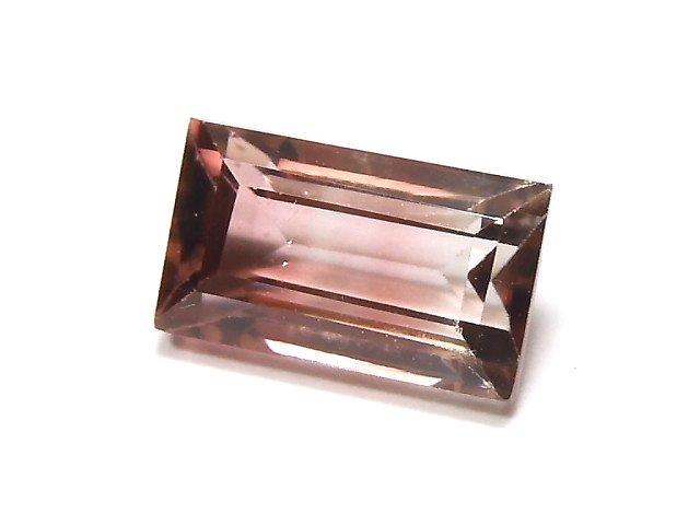 【動画】【1点もの】ナイジェリア産宝石質バイカラートルマリンAAA ファセットカット 1粒 NO.104