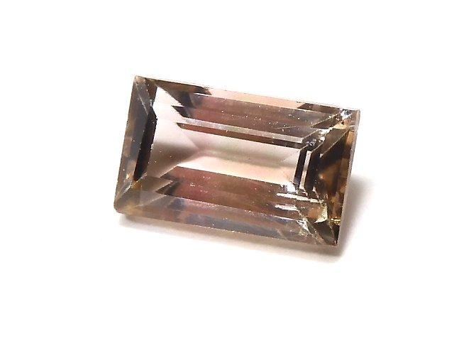 【動画】【1点もの】ナイジェリア産宝石質バイカラートルマリンAAA ファセットカット 1粒 NO.106