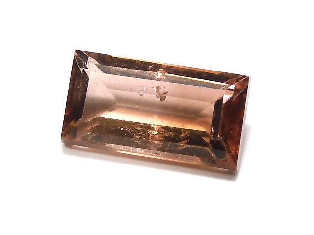 【動画】【1点もの】ナイジェリア産宝石質バイカラートルマリンAAA ファセットカット 1粒 NO.107