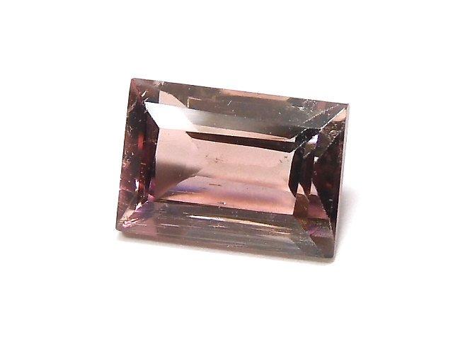 【動画】【1点もの】ナイジェリア産宝石質バイカラートルマリンAAA ファセットカット 1粒 NO.108