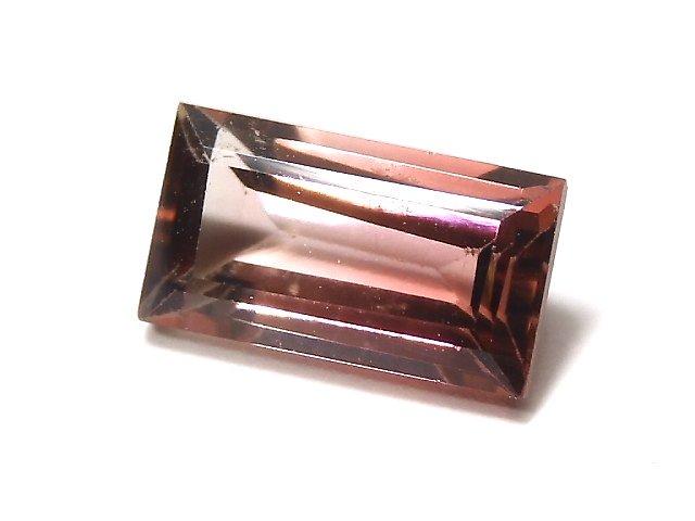 【動画】【1点もの】ナイジェリア産宝石質バイカラートルマリンAAA ファセットカット 1粒 NO.114
