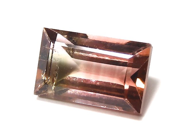 【動画】【1点もの】ナイジェリア産宝石質バイカラートルマリンAAA ファセットカット 1粒 NO.117