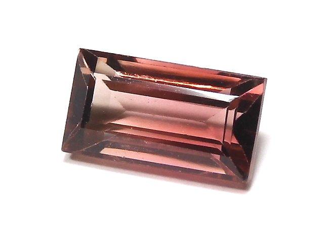 【動画】【1点もの】ナイジェリア産宝石質バイカラートルマリンAAA ファセットカット 1粒 NO.118