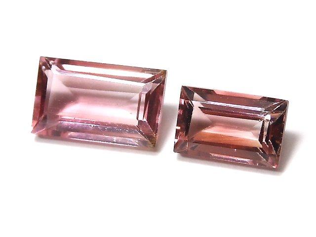 【動画】【1点もの】ナイジェリア産宝石質バイカラートルマリンAAA ファセットカット 1粒 NO.119