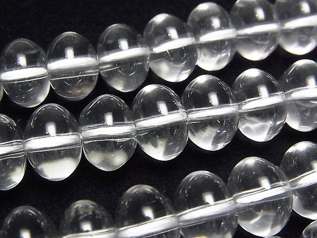 クリスタルAAA ぷっくりロンデル(ボタン)10×10mm 半連/1連(約36cm)