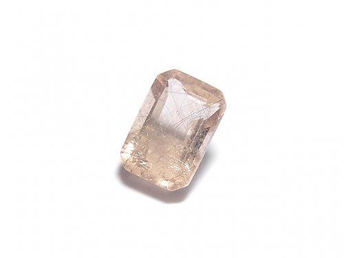 【動画】【1点もの】宝石質ピンクフローライトAAA ファセットカット(ルース) 1粒 NO.12