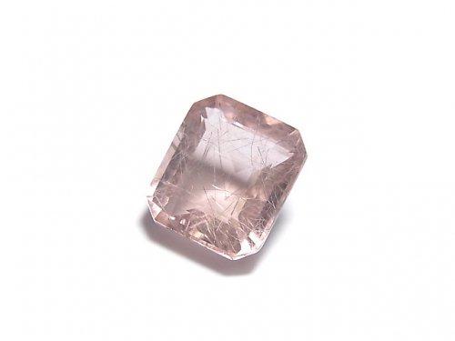 【動画】【1点もの】宝石質ピンクフローライトAAA ファセットカット(ルース) 1粒 NO.14