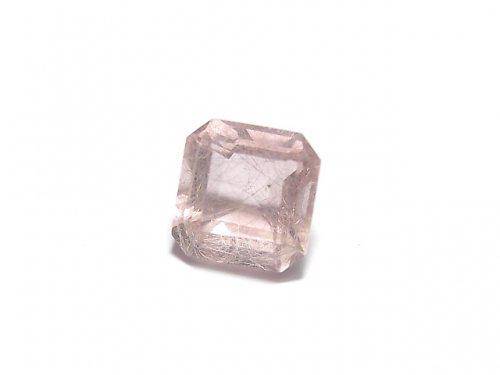 【動画】【1点もの】宝石質ピンクフローライトAAA ファセットカット(ルース) 1粒 NO.19