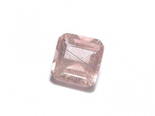 【動画】【1点もの】宝石質ピンクフローライトAAA ファセットカット(ルース) 1粒 NO.20
