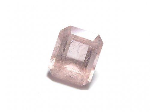 【動画】【1点もの】宝石質ピンクフローライトAAA ファセットカット(ルース) 1粒 NO.23