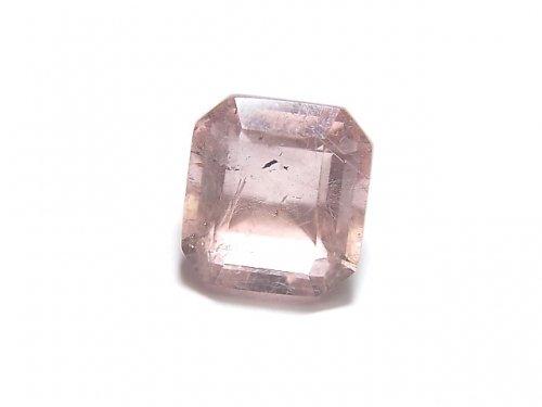 【動画】【1点もの】宝石質ピンクフローライトAAA ファセットカット(ルース) 1粒 NO.29