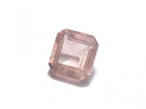 【動画】【1点もの】宝石質ピンクフローライトAAA ファセットカット(ルース) 1粒 NO.32