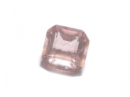 【動画】【1点もの】宝石質ピンクフローライトAAA ファセットカット(ルース) 1粒 NO.36
