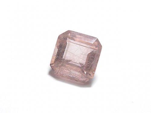 【動画】【1点もの】宝石質ピンクフローライトAAA ファセットカット(ルース) 1粒 NO.37