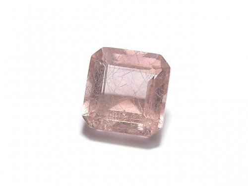 【動画】【1点もの】宝石質ピンクフローライトAAA ファセットカット(ルース) 1粒 NO.40