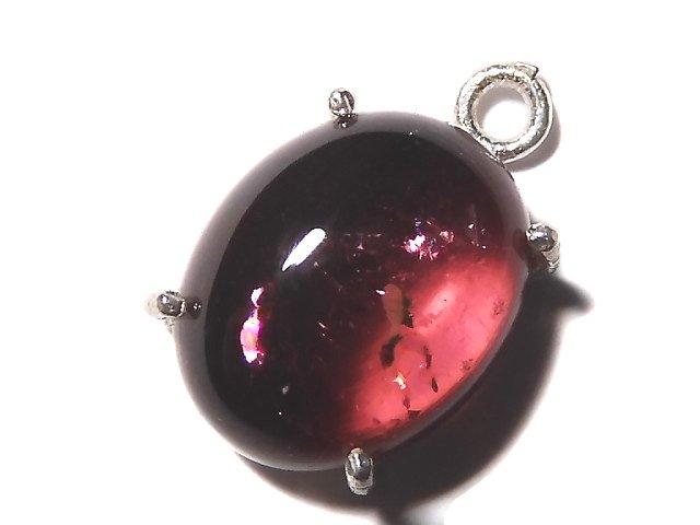 【動画】【1点もの】宝石質ピンクカラートルマリンAAA 枠留め SILVER925製 1個 NO.28