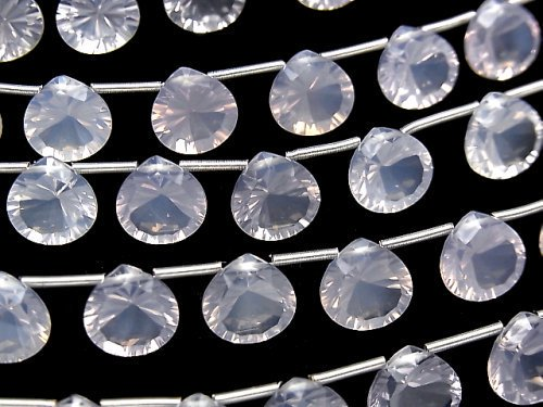 【動画】宝石質スコロライトAAA マロン コンケーブカット10×10mm 半連/1連(8粒)