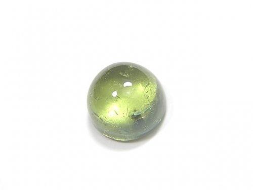 【動画】【1点もの】宝石質グリーントルマリンAAA カボション 1個 NO.203