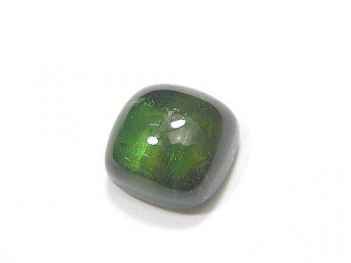 【動画】【1点もの】宝石質グリーントルマリンAAA カボション 1個 NO.207