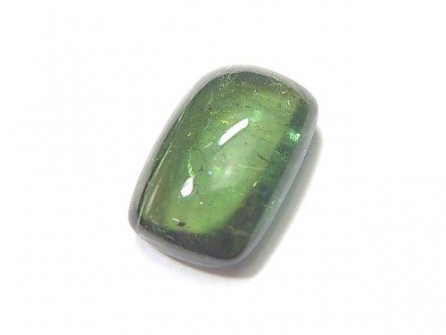 【動画】【1点もの】宝石質グリーントルマリンAAA カボション 1個 NO.211