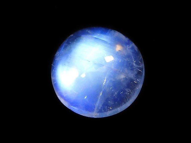 【動画】【1点もの】宝石質レインボームーンストーンAAA+ カボション 1個 NO.1