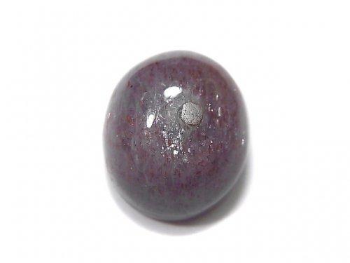 【動画】【1点もの】宝石質ブラッドショットアイオライトAAA カボション 1個 NO.60