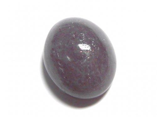 【動画】【1点もの】宝石質ブラッドショットアイオライトAAA カボション 1個 NO.75