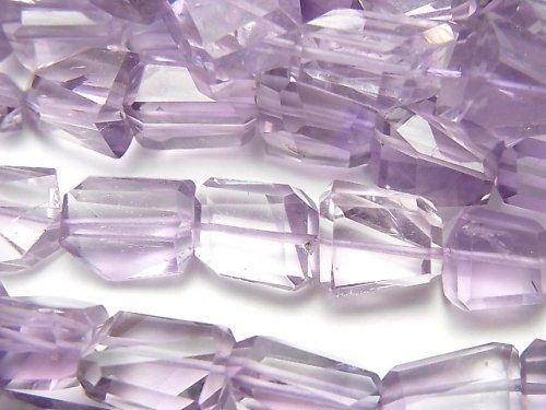 【動画】宝石質ピンクアメジストAA++ タンブルカット 半連/1連(約36cm)