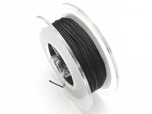 ドイツ製ナイロンコード ブラック 【0.5mm】【1mm】【1.5mm】【2mm】