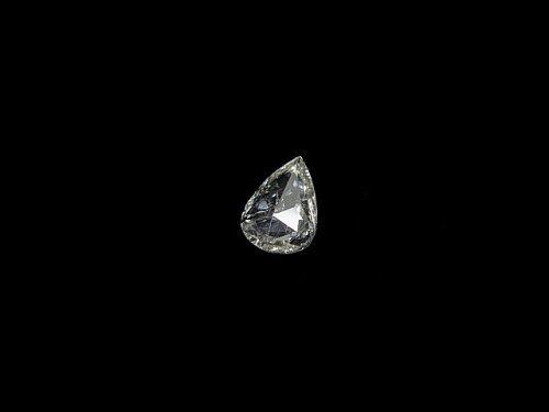 【動画】【1点もの】ホワイトダイヤモンド ローズカット 1個 NO.56