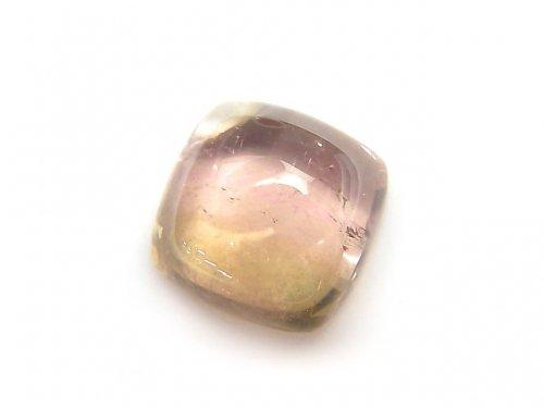 【動画】【1点もの】宝石質バイカラートルマリンAAA' カボション 1個 NO.101
