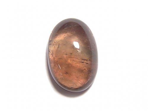 【動画】【1点もの】宝石質バイカラートルマリンAAA' カボション 1個 NO.114