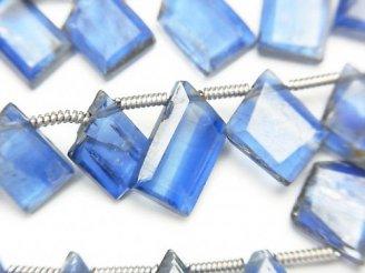 【動画】宝石質カイヤナイトAA++ ラフスライスカット 1連(約18cm)