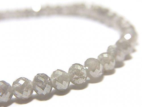 【動画】【1点もの】【1mm穴】非加熱ファンシーカラーダイヤモンド ボタンカット 1連(ブレス) NO.89