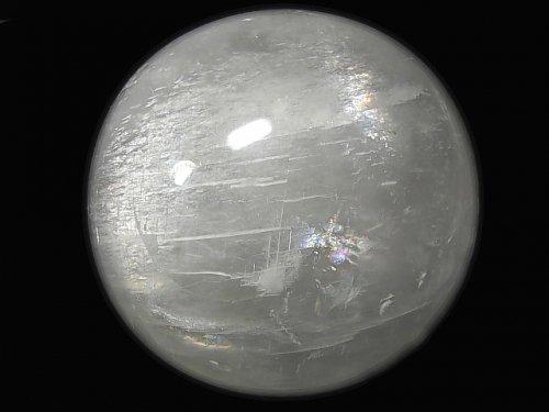 【動画】【1点もの】ホワイトカルサイト 特大スフィア・ラウンド165mm 1個 NO.1