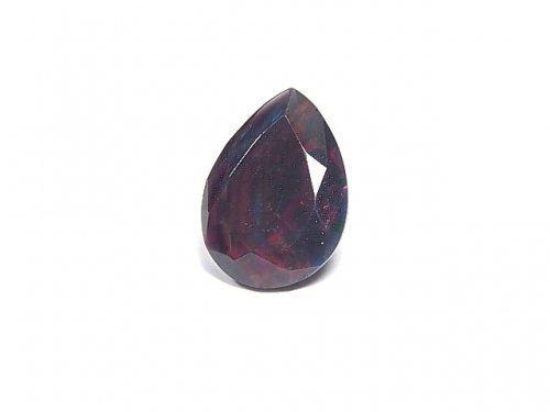 【動画】【1点もの】宝石質エチオピア産ブラックオパールAAA ファセットカット 1粒 NO.20