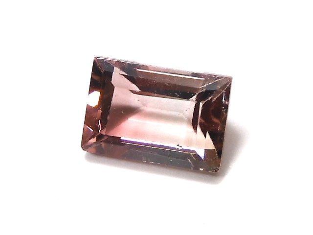 【動画】【1点もの】ナイジェリア産宝石質バイカラートルマリンAAA ファセットカット 1粒 NO.145