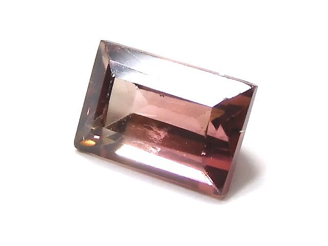 【動画】【1点もの】ナイジェリア産宝石質バイカラートルマリンAAA ファセットカット 1粒 NO.148