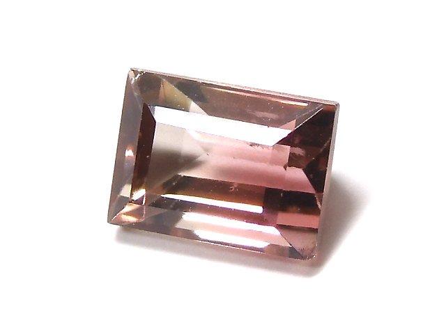 【動画】【1点もの】ナイジェリア産宝石質バイカラートルマリンAAA ファセットカット 1粒 NO.150
