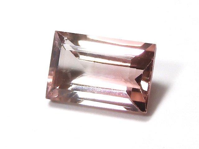 【動画】【1点もの】ナイジェリア産宝石質バイカラートルマリンAAA ファセットカット 1粒 NO.154
