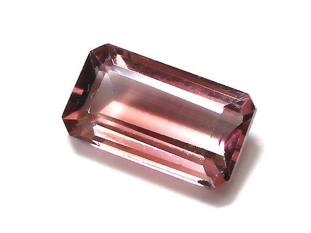 【動画】【1点もの】ナイジェリア産宝石質バイカラートルマリンAAA ファセットカット 1粒 NO.157