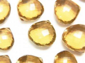 【動画】【粒売り】【極上カット】宝石質ビアクォーツAAA マロン ブリオレットカット 2粒