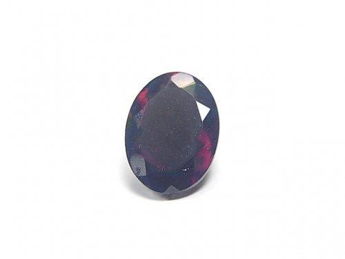 【動画】【1点もの】宝石質エチオピア産ブラックオパールAAA ファセットカット 1粒 NO.59