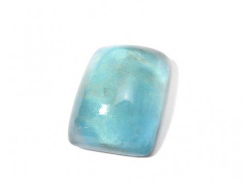 【動画】【1点もの】宝石質ブルーグリーンフローライトAAA カボション 1粒 NO.99