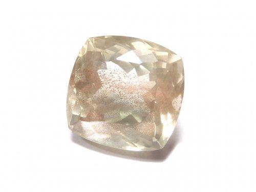 【動画】【1点もの】宝石質オレゴンサンストーンAAA++ ファセットカット 1個 NO.217