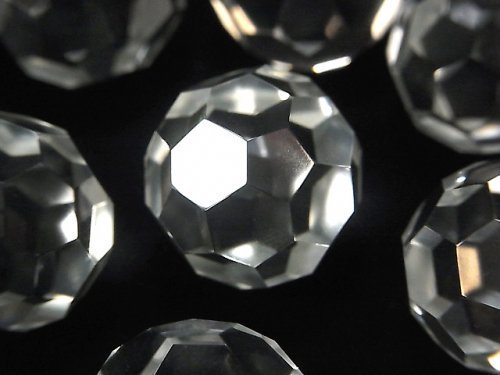 【動画】希少品!クリスタルAAA 「バッキーボール」 ラウンドカット18〜20mm 1個