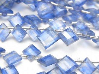 【動画】宝石質カイヤナイトAA++ ダイヤカット 【ライトカラー】 1連(約18cm)