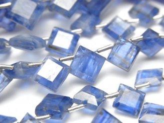 【動画】宝石質カイヤナイトAA++ ダイヤカット 【ミディアムカラー】 1連(約18cm)
