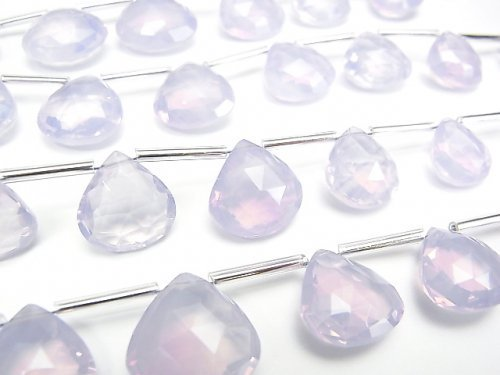 【動画】宝石質スコロライトAAA マロン ブリオレットカット 半連/1連(約16cm)